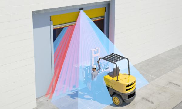 Sensori per porte industriali